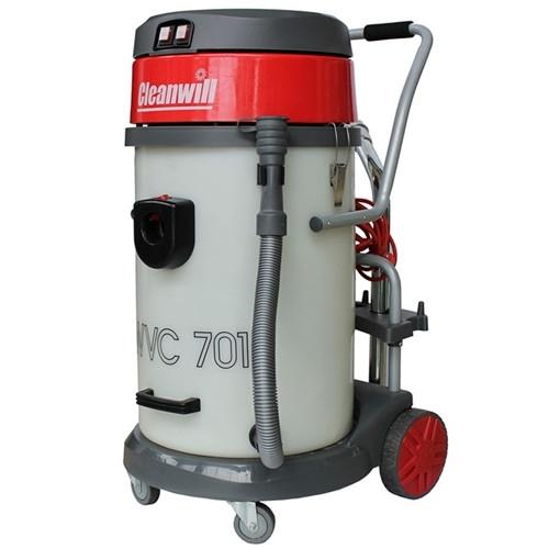 工业吸尘器的工作原理