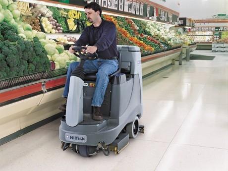 中型驾驶式洗地机-BR855